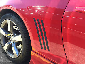 2010 2011 2012 2013 2014 2015 Chevy Camaro 6pc Side Vent Insert Stripes Decal