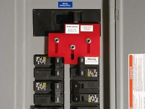 Sd 2 Generator Interlock Kit For Square D Homeline Panel