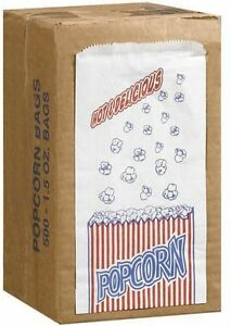 Great Northern Popcorn Company 1 1 2 ounce Duro Bag Popcorn Bags Case Of 500