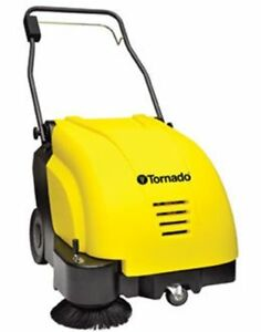 Tornado Swb 26 8 Battery Powered Walk behind Sweeper W charger Free Shipping