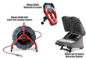 Ridgid 200 Mini Reel 48488 Navitrack Ii Locator 96967 Cs65x Wifi 55978