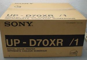 new Sony Up d70rx 1 Color Large Format Digital Ultrasound Endoscope Machine