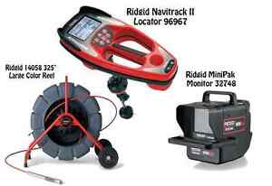 Ridgid 325 Color Reel 14058 Navitrack Ii Locator 96967 Minipak 32748