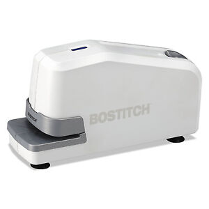 Bostitch Impulse 25 Electric Stapler 25 sheet Capacity White 02011
