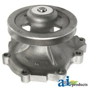 New Ford Tractor Water Pump With Pulley For Tw Series