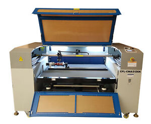 Camfive Cutting Engraving Laser Machine 50 x26 Work Table 100w Pro Laser Tube