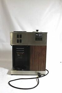 Bunn Coffee Brewer Vpr 12 cup Commercial Pourover Machine Pour omatic 2 Warmers