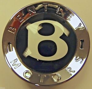 New Original Genuine Oem Factory Bentley Small Button B Wheel Center Cap Boss
