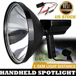 100w 9 Inch 240mm Handheld Hid 9 Spotlight Driving Lights Hunting Search Light