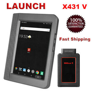 Launch X431 V 8 Inch Tablet Full System Auto Car Diagnostic Scanner Tool Update