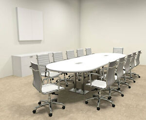 Modern Racetrack Steel Leg 12 Feet Conference Table of con cm8