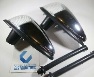 Vw Bug Clear Front Turn Signal Assembly 113953041a 1958 1963 Air Cooled Vws