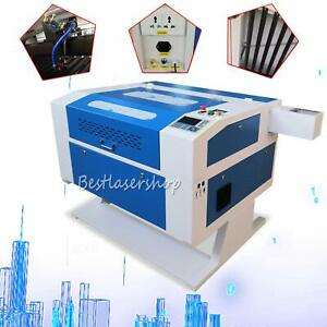 Reci 100w Co2 Usb Port Laser Engraving Cutting Machine Red dot Position New