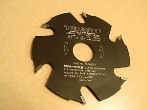 Tenryu 6t Biscuit Jointer Blade