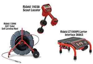 Ridgid 325 Color Sl Reel 13998 Navitrack Scout Locator 21893 Lt1000m 36663