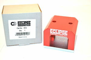 New Eclipse Magnetics Uk 816 Alnico Power Magnet 450 List 103lbs pull m8c6 4