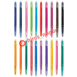 Pilot Frixion Ball Slim Erasable Gel Ink Pens Extra Fine Point 0 38mm 20colors