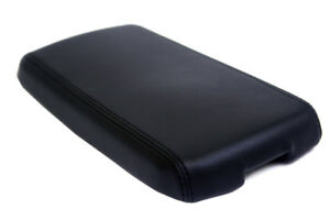 Center Console Armrest Leather Synthetic Cover For Pontiac G6 05 10 Black