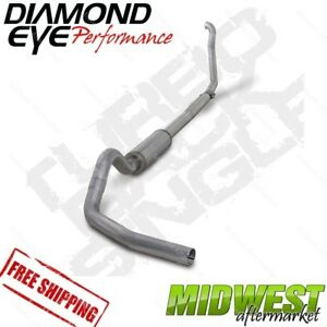 Diamond Eye 4 Turbo Back Off Road Exhaust 94 97 Ford F250 F350 7 3l Powerstroke