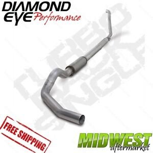 Diamond Eye 5 Turbo Back Exhaust For 1994 97 5 Ford F250 F350 7 3l Powerstroke
