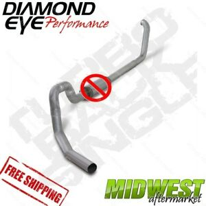 Diamond Eye 4 Turbo Back Exhaust No Muffler 99 5 2003 5 Ford F550 7 3l Rollover