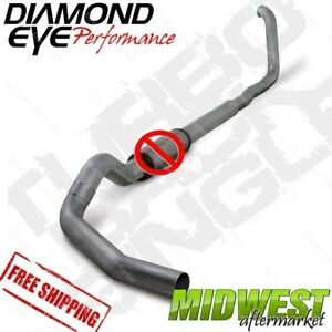 Diamond Eye Ss 5 Turboback Off Road No Muffler 99 03 Ford F250 F350 7 3l Auto