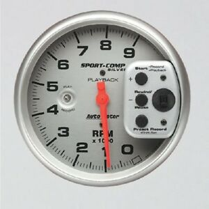 Autometer Auto Meter Sport comp Playback Tachometers 3964 Free Shipping
