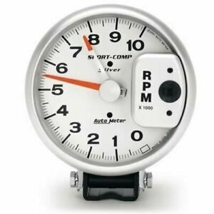 Autometer Auto Meter Sport Comp Silver Tachometers 3910 Free Shipping