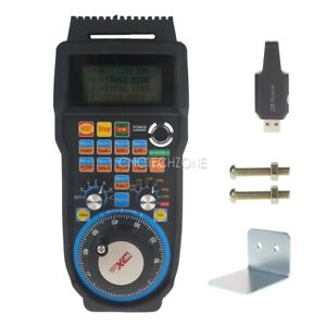 Cnc 6 Axis Wireless Mach3 Mpg Pendant Handwheel Controller For Cnc Machine Lathe