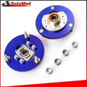Coilover Pillowball Front Camber Plate For Bmw E46 320i 323i 328ci 330xi M3 Blue