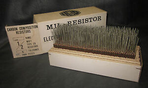 Mil Spec Box Of 1 2w Watt Carbon Comp 5 Resistors 150 Ohm 750 Pieces