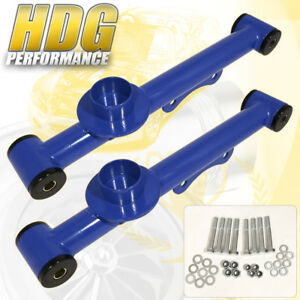Ford Mustang 1979 2004 Racing Suspension Rear Lower Control Arms Pair Blue