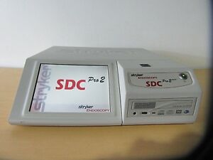 Stryker Endoscopy Sdc Pro 2 Dvd Color Touch Screen Monitor