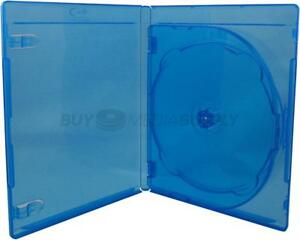 12mm Standard Blu ray 3 Discs Dvd Case 50 Pack