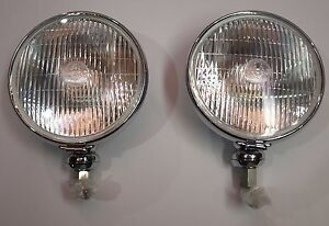 Lucas Sft700s Driving Lamps For Rolls royce And Bentley Daimler Healey