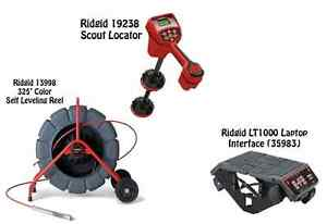 Ridgid 325 Color Sl Reel 13998 Navitrack Scout Locator 19238 Lt1000 35983