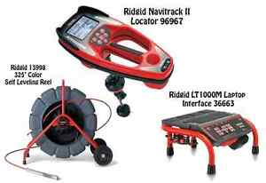 Ridgid 325 Color Sl Reel 13998 Navitrack Ii Locator 96967 Lt1000m 36663