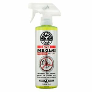Chemical Guys Apex Wheel Cleaner Spray On Wipe Off For Motorcycles 16 Oz