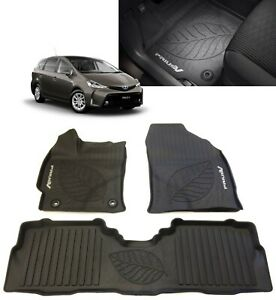 2012 2017 Prius V Floor Mats All Weather Floor Liners Oem Toyota Pt908 47170 02