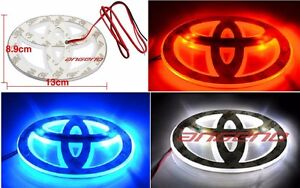 toyota emblem led in stock replacement auto auto parts ready to ship new and used automobile. Black Bedroom Furniture Sets. Home Design Ideas