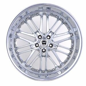 4 Gwg Wheels 20 Inch Chrome Amaya Rims 20x10 Fits 5x114 3 Jeep Patriot 2wd
