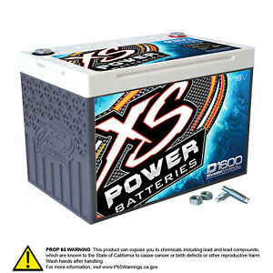 Xs Power D1600 16 Volt Agm Battery Max Amps 2 400a Ca 675a 48 18lbs Group 34