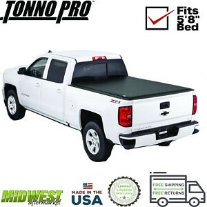 Tonno Pro Soft Roll Up Tonneau Cover For 14 17 Gm Silverado Sierra 1500 5 8 Bed