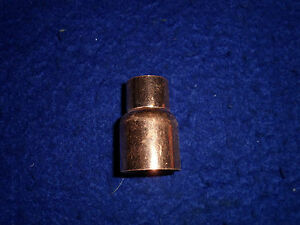 3 4 X 1 2 Copper Reducer Coupling Bell Coupler fits 7 8 od X 5 8 od Pipe