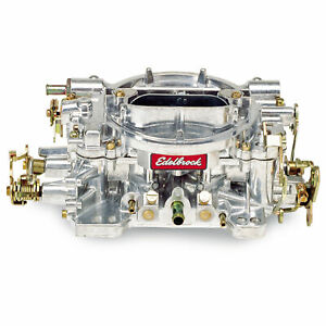 Edelbrock Performer Carburetor 4bbl 750 Cfm Air Valve Secondaries 1407