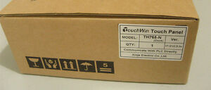 Th765 n Xinje Touchwin Hmi Touch Screen 7 Inch With Program Cable New