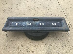 80 86 Ford Truck F 150 F 250 F 350 Tailgate Tail Gate Black Oem W Cables