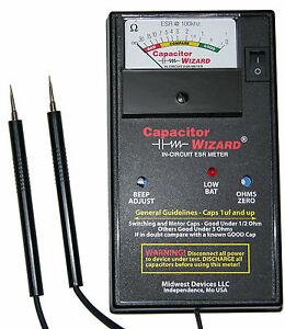 Cap1b Esr Capacitor Wizard Capacitance Esr Meter tester Test Caps In Circuit