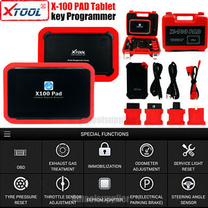 Xtool X 100 Pad Tablet Auto Programmer With Eeprom Adapter Pin Ecu