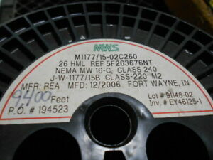 Magnet Wire 26 Awg Enameled Copper Magnet Wire 8lb 9000ft Mangetic Coil Winding